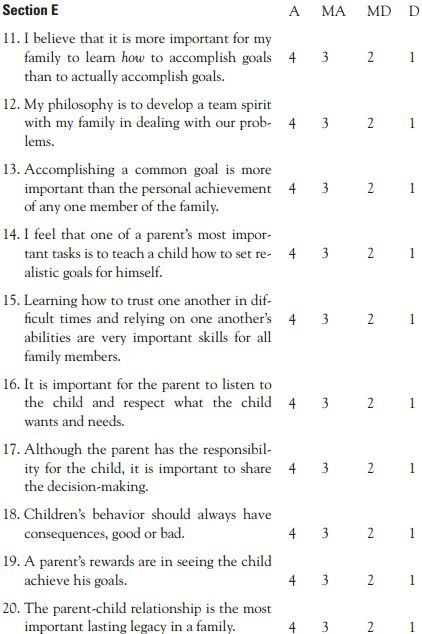 Parenting Styles Quiz Worksheet on parenting styles worksheets